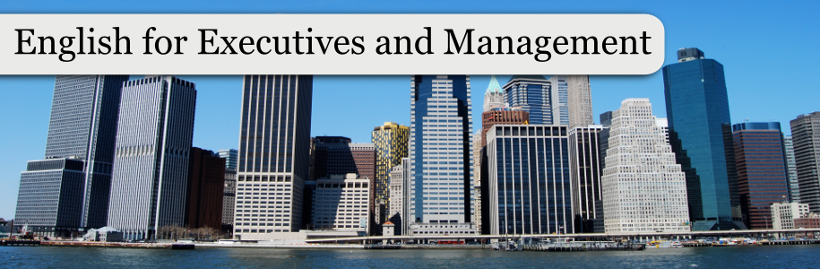 English for Executives and Management