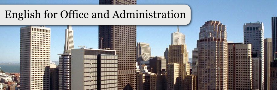 English for Office and Administration
